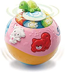 BABY'S ACTIVITY BALL: This fun baby ball toy features loads of activities for babies development. The rolling feature is great to wake babies' interest and encourage crawling around EDUCATIONAL TOY: Your little one will love the activity ball as it i...