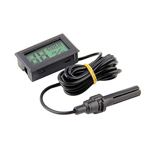 Gfjfghfjfh Profesional Mini Digital LCD Termómetro