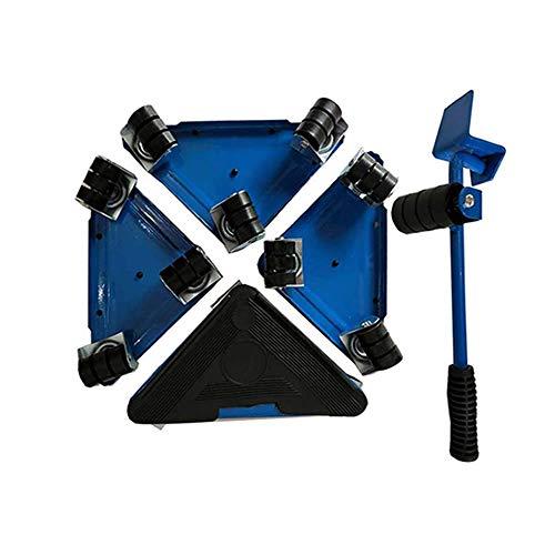 スマート台車 ブルー キャリー 引っ越し 模様替え 家電 家具 移動 重量物 移動用 KAGUIDDS-BL