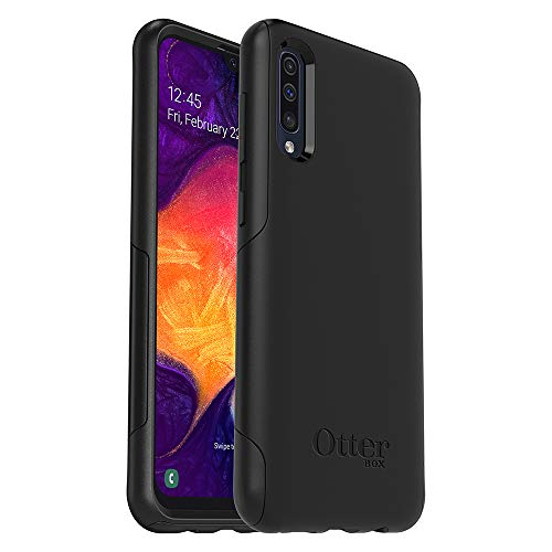 OtterBox 77-62398 für Galaxy A50, Sturzgeschützte Schutzhülle, Commuter Lite, Schwarz