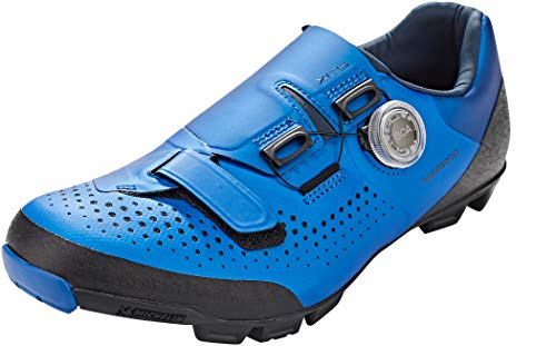 SHIMANO Xc5 (Xc501) SPD Zapatos, Azul, Talla 43