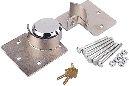 price 73mm Door Security Padlock and Hasp Kit Heavy Sales of SALE items from new works 1 Duty 2 X Steel