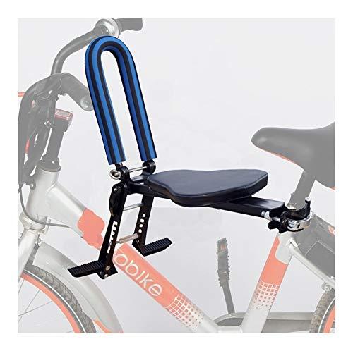 Asiento de bicicleta para niños, portátil, plegable y ultraligero para niños con pasamanos para bicicletas crucero, bicicletas plegables, bicicletas compartidas ciudad YSJ