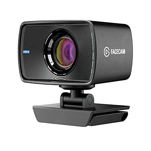 Elgato Facecam - True 1080p60 Full HD Webcam, Sony Sensor, Fixed-Focus Glass Lens, Optimized for Indoor Lighting, onboard Memory, Detachable USB-C