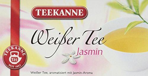 Teekanne Weißer Tee Jasmin 20 Beutel, 3er Pack (3 x 25 g Packung)