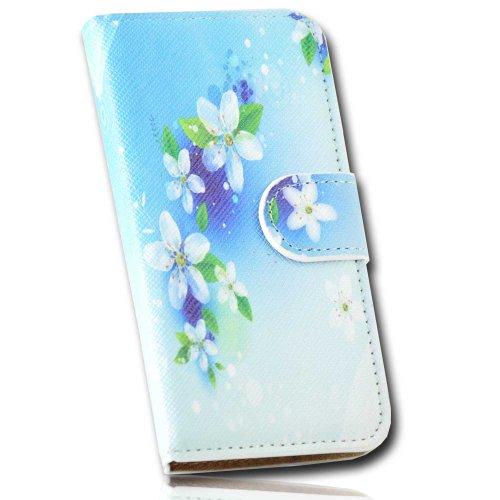 Handy Tasche Hülle Book für Huawei Ascend Y300 / Handytasche Schutzhülle JS M33