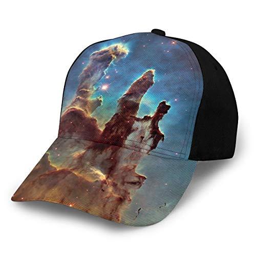 Sternenhimmel (8) Mode Print Sport Hut Running Cap für Männer und FrauenBaseball Cap personalisierte Trucker Dad Hut