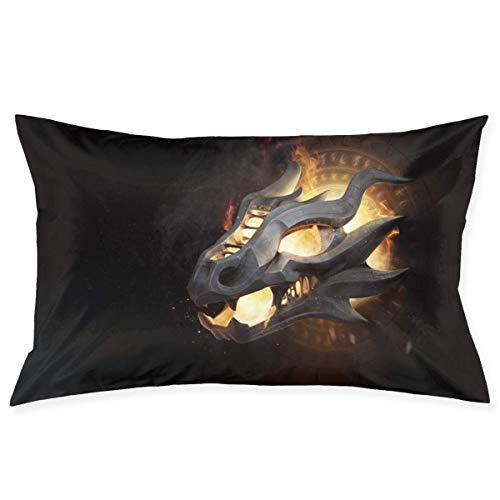 Jichuang Game Thrones - Fundas de almohada para sala de estar, sofá o cama de 20 x 36 pulgadas
