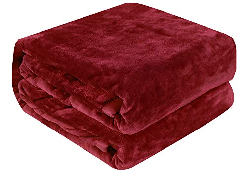 Qbedding Inc. Luxury Collection Microplush Flannel Fleece Blanket | Ultra Soft 380 GSM Lightweight...