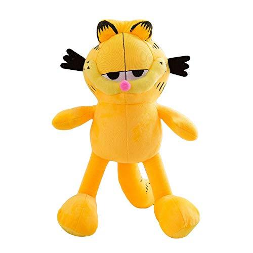 shenlanyu Stofftier 60cm Cartoon Garfield Plüschtier Garfield Cat Plüsch Gefüllte Puppe Moive Anime Spielzeug Weiche Figur Puppe Geschenke