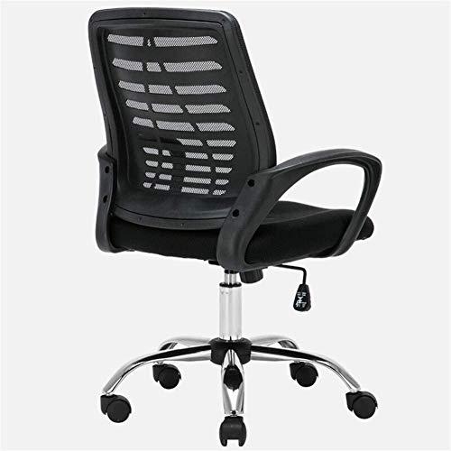 ZXNRTU Relájese cómodamente seguro Silla de tareas giratoria adecuada for la oficina del acoplamiento del ordenador de escritorio con silla de oficina silla de la computadora personal Inicio giratoria