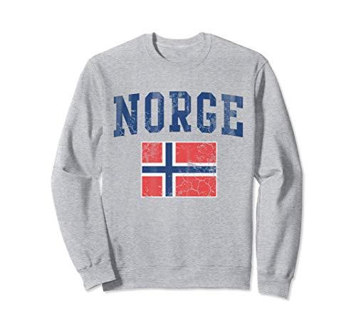 Norge Flag Norway Norwegian Sudadera