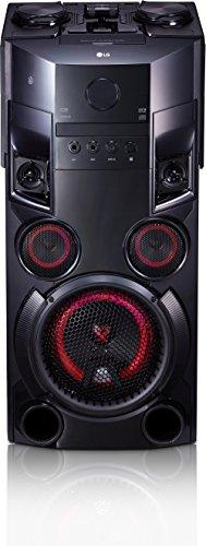 LG OM5560 Party HiFi Sytem, Karaoke, DJ Effekte, 2 x USB, 500W schwarz