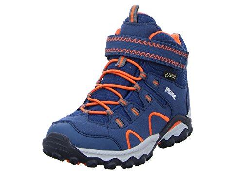Meindl Lucca Junior Mid GTX 2106-49 464718 - Botas de montaña para niño, color azul, color Azul, talla 27 EU