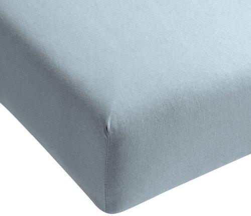 Beddinghouse Jersey hoeslaken / 160 * 200/210 cm/lichtblauw