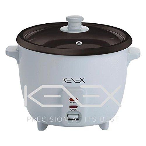 Kenex rijstkoker 1,8 liter wit