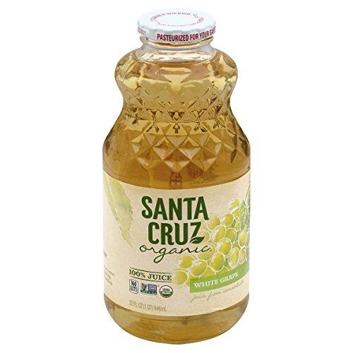 Santa Cruz, Juice, White Grape, Organic, 1 Quart