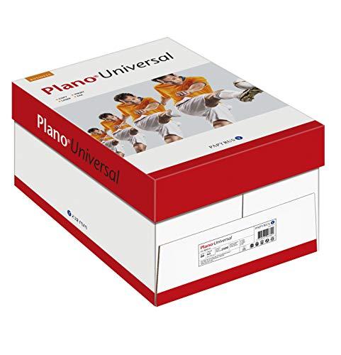 Papyrus 88026736 Drucker-/Kopierpapier PlanoUniversal, 80 g/qm, DIN A3, 5 x 500 Blatt, matt, weiß - Allround Kopierpapier