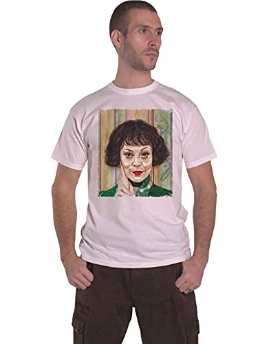 Rock Off Peaky Blinders Unisex T-Shirt: Polly Painting (Small) - Small - White - Unisex