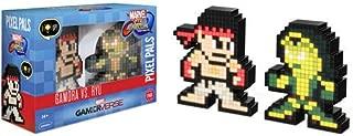 PDP Pixel Pals Marvel vs. Capcom Infinite Gamora vs. Ryu Collectible Figure 2 Pack, 878-042-NA-MvC2