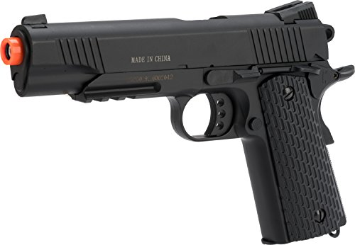Evike - Double Eagle M291 Full Metal 1911 Full Size Airsoft Spring Pistol