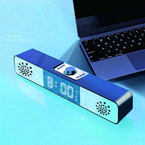 Reloj despertador digital Bluetooth Subwoofer Subwoofer Digi