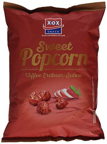 XOX Gourmet Popcorn Toffee Erdbeer-Sahne