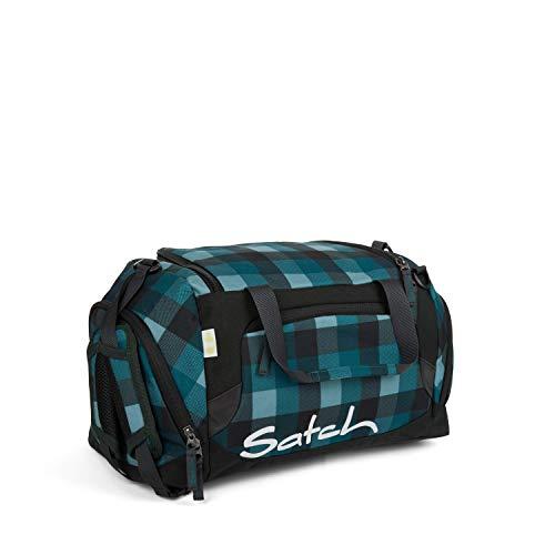 Satch Sporttasche Blue Bytes, 25l, Schuhfach, gepolsterte Schultergurte, Blau