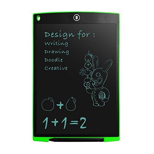 Thee E Schreiben LCD 12INCH Schichten grafische Zeichnung Tablet Memo Pad-Tablet mit Eingabestift grün