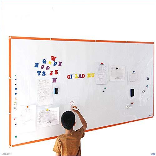 De magneten houden whiteboard-stickers voor op de muur, op kantoor, droog afwasbaar, voor decoratie van je huis. 80x50cm
