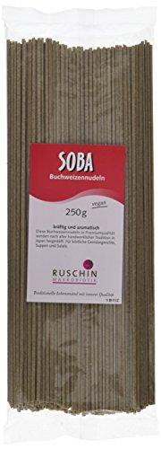 Ruschin Soba-Nudeln, 100% Buchweizen, 1er Pack (1 x 250 g)