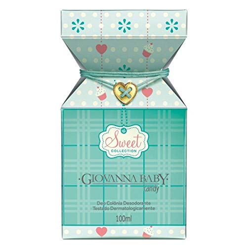 Linha Sweet Giovanna Baby - Deo Colonia Candy 100 ml - (Giovanna Baby Sweet Collection - Candy Eau de Cologne 3.38 Fl Oz.) by Giovanna Baby