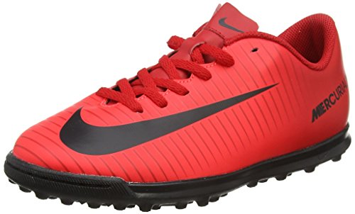Nike Jr Mercurialx Vortex III TF, Zapatillas de Fútbol Unisex Niños, Multicolor (University Redblackbright Crimson), 38 EU