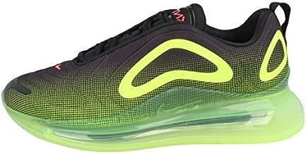 Nike Air Max 720 Mens Running Trainers AO2924 Sneakers Shoes (UK 8.5 US 9.5 EU 43, Black Bright Crimson Volt 008)