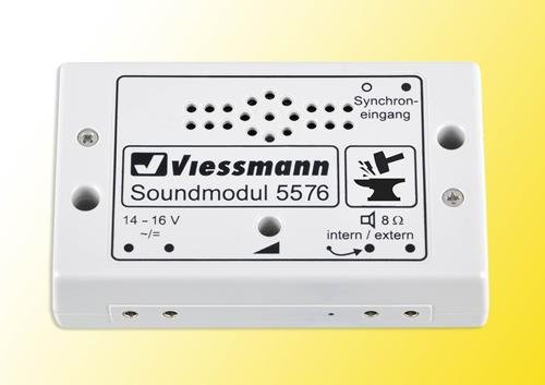 Viessmann 5576 Soundmodul Schmied Fertigbaustein