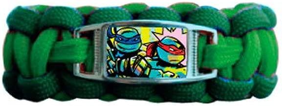 Teenage Mutant Ninja Turtles One on a Card Paracord Bracelet with Charm