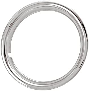 17 Inch Chrome Plated Stainless Steel Trim Rings