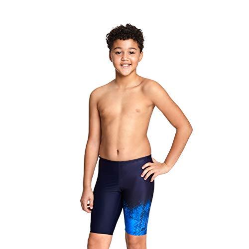 Zoggs Jungen Irony Jammer Badeshorts, Marineblau/blau, 29