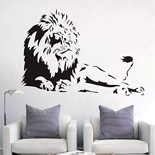 Lion Animal Lion Vinyl Wall Sticker Home Living Room Creative Art Cartoon Wall Sticker