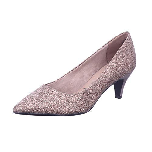 Tamaris Damen Pumps Bronze 40
