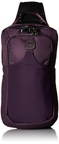 Pacsafe Venturesafe X sling pack - plum