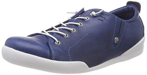 Andrea Conti Damen 0345724 Sneaker, Blau (Jeans), 39 EU