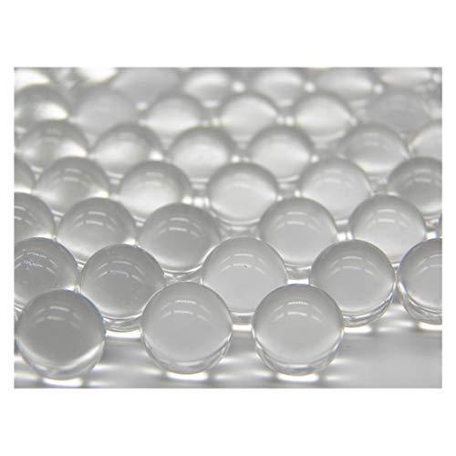 ECYC 200 Pcs Transparent Boules De Verre Perles pour Fish Tank Pot De Fleurs Et Jardinage LâChe Vase Vase Filler, 10mm