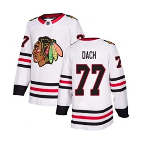HZIH Hockey-Trikots Sporttraining Bekleidung NHL Männer Sweatshirts Breath Langarm-T-Shirt 3D Printing Dach # 77,3XL