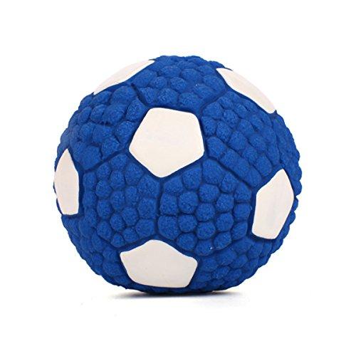 PETCUTE Ball für Hunde Hundespielzeug Ball vollgummiball für Hunde Ball Spielzeug für Hunde Welpen Hundespielzeug Tennisball mit Quietscher