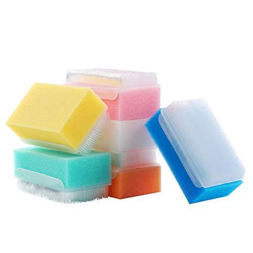 6 Pack Reusable Sensory Brush, Surgical Brush, Nail Brush,Baby Bath Scrubber.