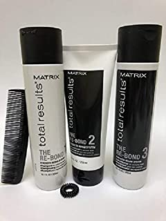 Matrix Total Results The Re-Bond Repair Damaged Hair Full Size (Comb & Spiral Hair Tie Included)