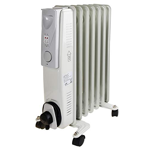 Daewoo Fine Elements Oil Filled Radiator, 1500 Watt