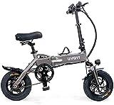 Fangfang Bicicletas Eléctricas, Bicicleta eléctrica Bicicleta eléctrica Plegable para Adultos 48V 250W 8AH para la Ciudad Desplazar el Viaje al Aire Libre de Ciclismo de Viaje,Bicicleta
