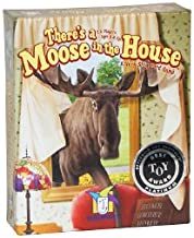 There's a Moose in the House with FREE Deck of Playing Cards by Gamewright